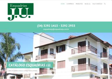 Site Esquadrias J.U.