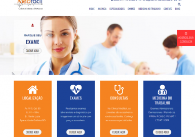 Site ClinicaMedfácil