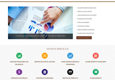 Site SR Consultoria Financeira