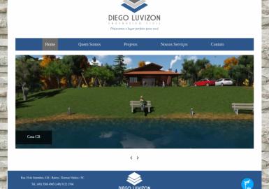 Site Engenheiro Diego Luvizon