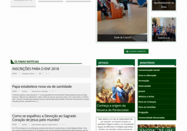 Site RCC Caxias do Sul