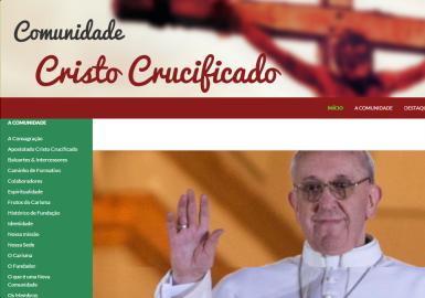 Site Cristo Crucificado