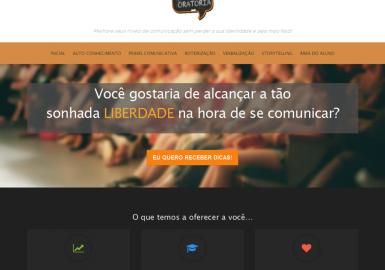 Site Escola da Oratória