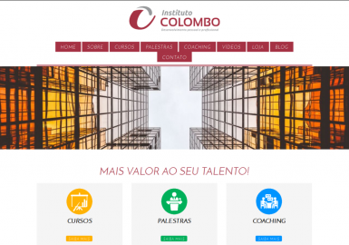 Site Instituto Colombo