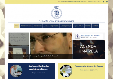 Site NSrª de Cimbres