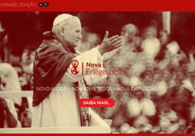 Site Nova Evangelização