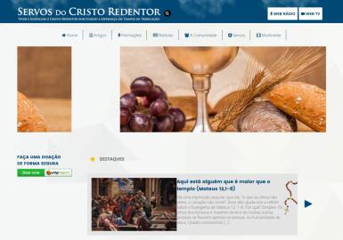 Site Servos do Cristo Redentor